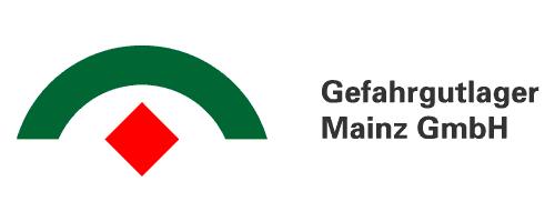 Gefahrgutlager Mainz Logo mit Text
